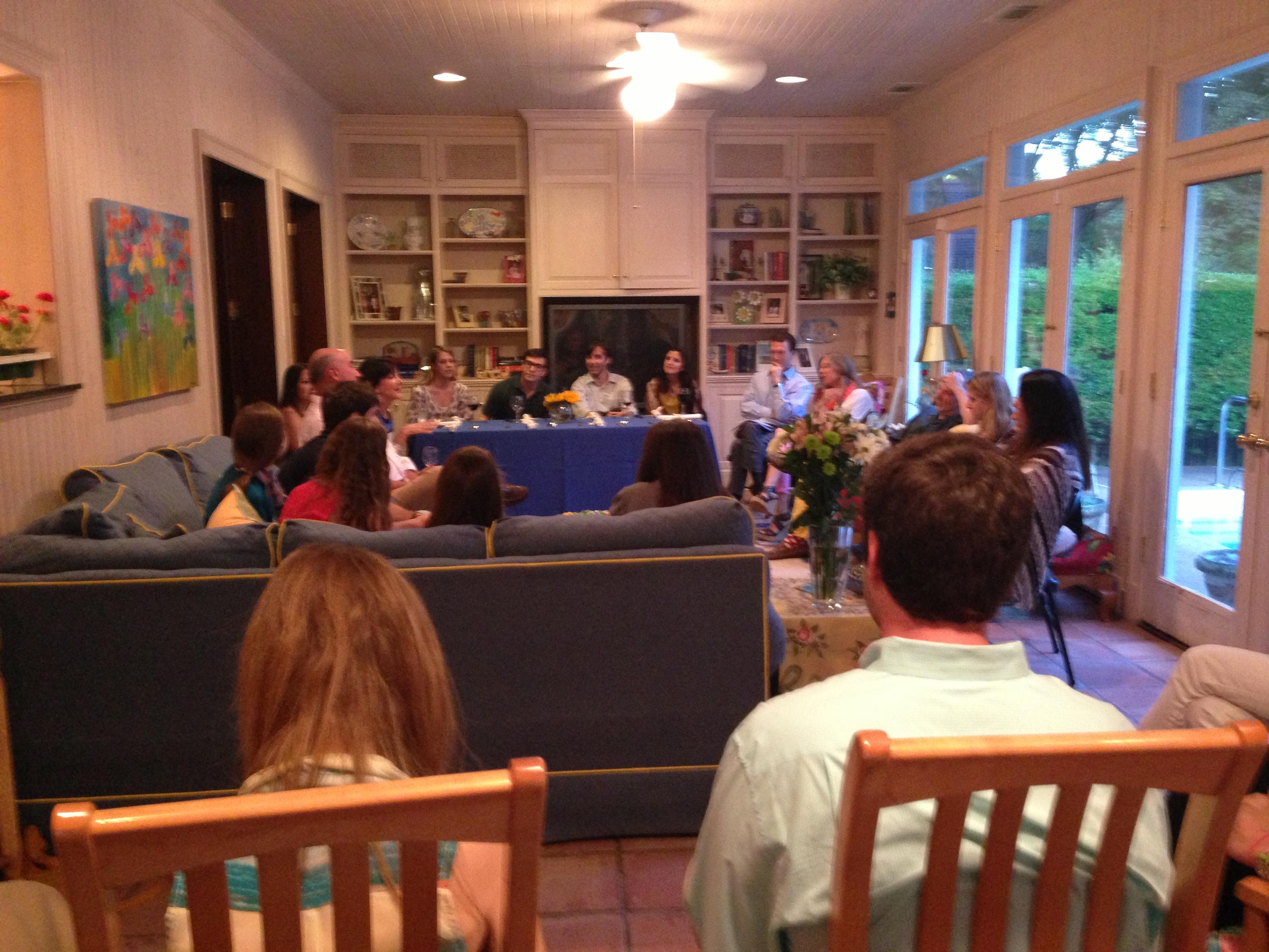 Shabbat at Rabbi Greenstein's