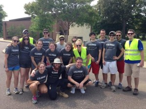 The Fellows at the Temple Israel Cemetery after our community service event